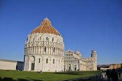 Piazza del Duomo, Pisa Italia Foto de archivo