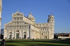 Piazza del Duomo, Pisa Italia Fotografía de archivo