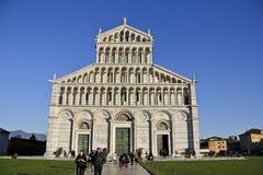 Piazza del Duomo, Pisa Italia Fotos de archivo