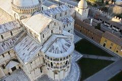 Piazza del Duomo, Pisa Italia Fotos de archivo libres de regalías