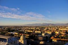 Piazza del Duomo, Pisa Italia Imagen de archivo libre de regalías