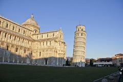 Piazza del Duomo, Pisa Italia Foto de archivo libre de regalías