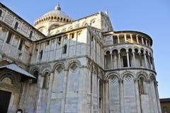 Piazza del Duomo, Pise l'Italie Images libres de droits
