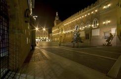 Piazza del Nettuno, Bologna, Italia fotografia stock libera da diritti