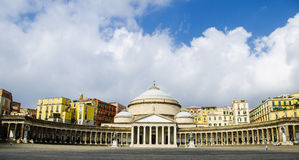 Piazza del plebiscito Stock Photography
