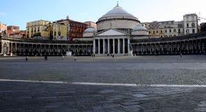 Piazza del plebiscito stock afbeelding
