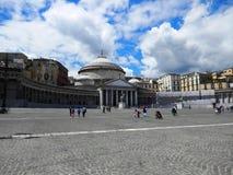 Piazza Del Plebiscito Fotografia Stock
