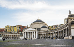 Piazza del plebiscito Fotografie Stock