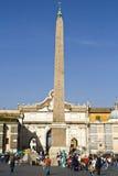 Piazza del Popola Immagine Stock Libera da Diritti