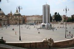 Piazza del popollo Stock Images