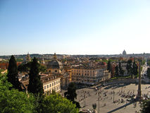 Piazza del Popolo 03 Στοκ φωτογραφία με δικαίωμα ελεύθερης χρήσης