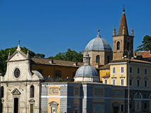 Piazza del Popolo 12 Royalty Free Stock Photography