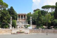 Piazza del Popolo Imagen de archivo