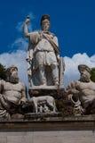 Piazza del Popolo Fotografie Stock