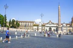 Piazza del Popolo. Foto de archivo libre de regalías