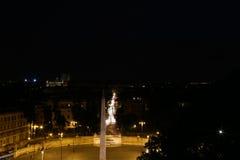 Piazza del popolo Fotografia Royalty Free