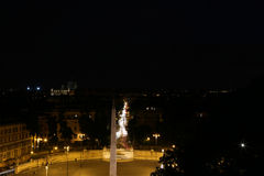Piazza del popolo Royalty-vrije Stock Fotografie