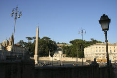 Piazza del Popolo   Photo stock