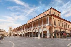 Piazza del Popolo in Faenza, Italy Royalty Free Stock Photo