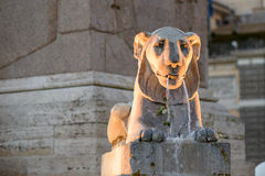 Piazza del popolo Royalty Free Stock Photography