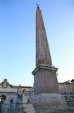 Piazza del Popolo and Flaminio Obelisk in Rome, Italy Royalty Free Stock Photos
