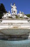 Piazza del popolo, fontanadella Dea Rome Stock Foto's
