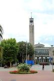 Piazza del Popolo in Montecatini Terme Royalty Free Stock Photos