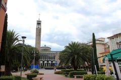 Piazza del Popolo in Montecatini Terme Stock Image