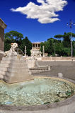 Piazza del Popolo - People's Square Royalty Free Stock Photos