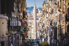Piazza Del Popolo, Rom, Italien Stockbild