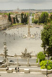 Piazza Del Popolo, Rom, Italien Lizenzfreie Stockfotos
