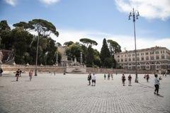 Piazza del Popolo Stock Photography