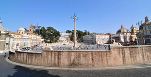 Piazza del Popolo, Rome Stock Photography