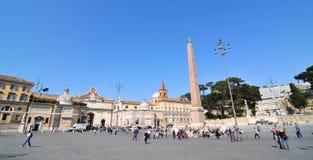 Piazza del Popolo, Rome Royalty Free Stock Image