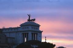 Piazza del popolo Rome Royalty-vrije Stock Fotografie