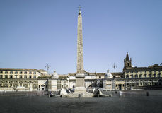 Piazza del Popolo, Rome Royalty Free Stock Photo