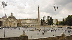 Piazza del Popolo, Rome, Italy Stock Photos