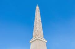 Piazza del Popolo in Rome, Italy stock photography
