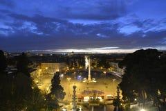 Piazza del Popolo- Rome Stock Image