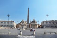 Piazza del Popolo, Santa María fotos de archivo libres de regalías