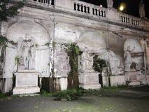 Piazza Del Popolo statua Zdjęcia Stock