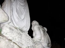 Piazza Del Popolo statua Obrazy Stock