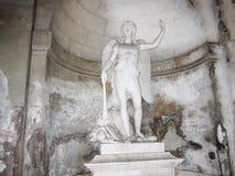 Piazza Del Popolo statua Fotografia Stock