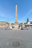 PIAZZA DEL POPOLO Royalty Free Stock Photo