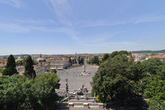PIAZZA DEL POPOLO Stock Photos