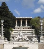 Piazza del Popolo at summer time Stock Images