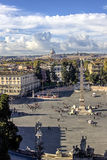 Piazza del Popolo Stock Image
