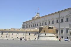 Piazza del Quirinale Fotos de archivo libres de regalías