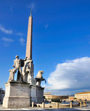 Piazza del Quirinale, Rome, Italy Stock Photos