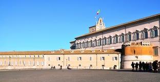 Piazza del Quirinale Stock Photography